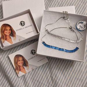 BNIB Daniela Swaebe Ring and Bracelet Set